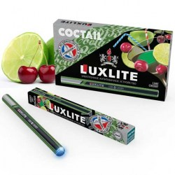 Фото электронная сигарета Luxlite Lime Cherry с запахом лайма и вишни, никотин 9 мг, 5 шт. рис.1