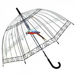 ФФото зонт-трость «ПТАШКА В КЛЕТКЕ» (Umbrella «Bird in cage») рис.1